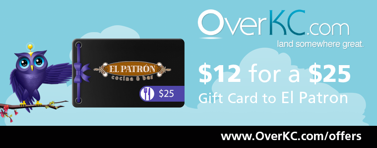 El Patron Gift Card from OverKC.com
