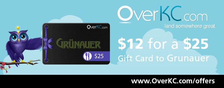 Grunauer Gift Card from OverKC.com